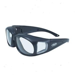 Z87 Motorcycle Glasses Clear Lens Fit Over Biker